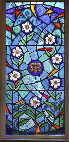 Ave Maria Window, St Columba Church
