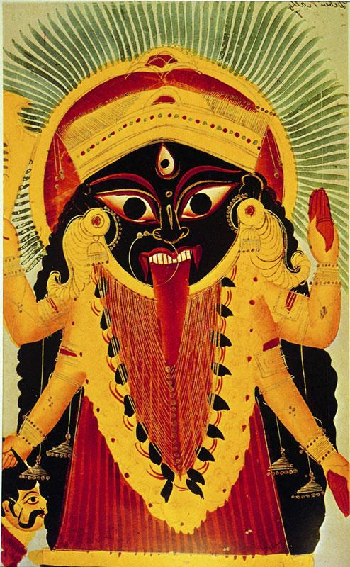 Kalighat-Kali(W)